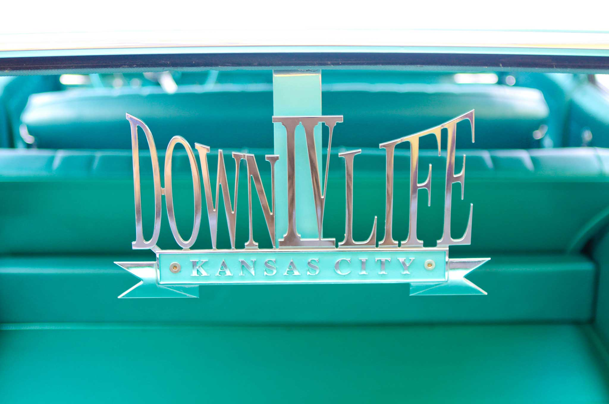 1965 chevrolet impala wagon down iv life club plaque 023