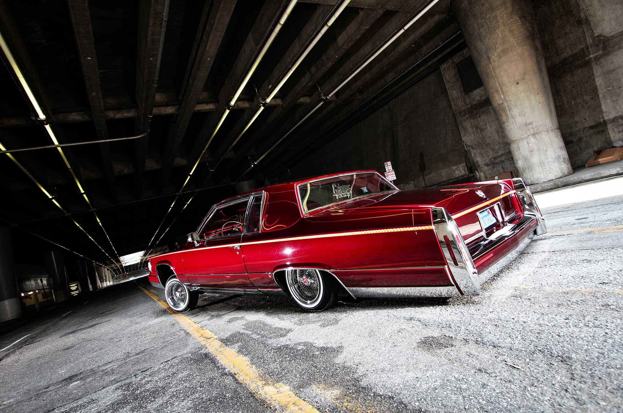 1983 Cadillac Coupe Deville Love Her Madly Lowrider