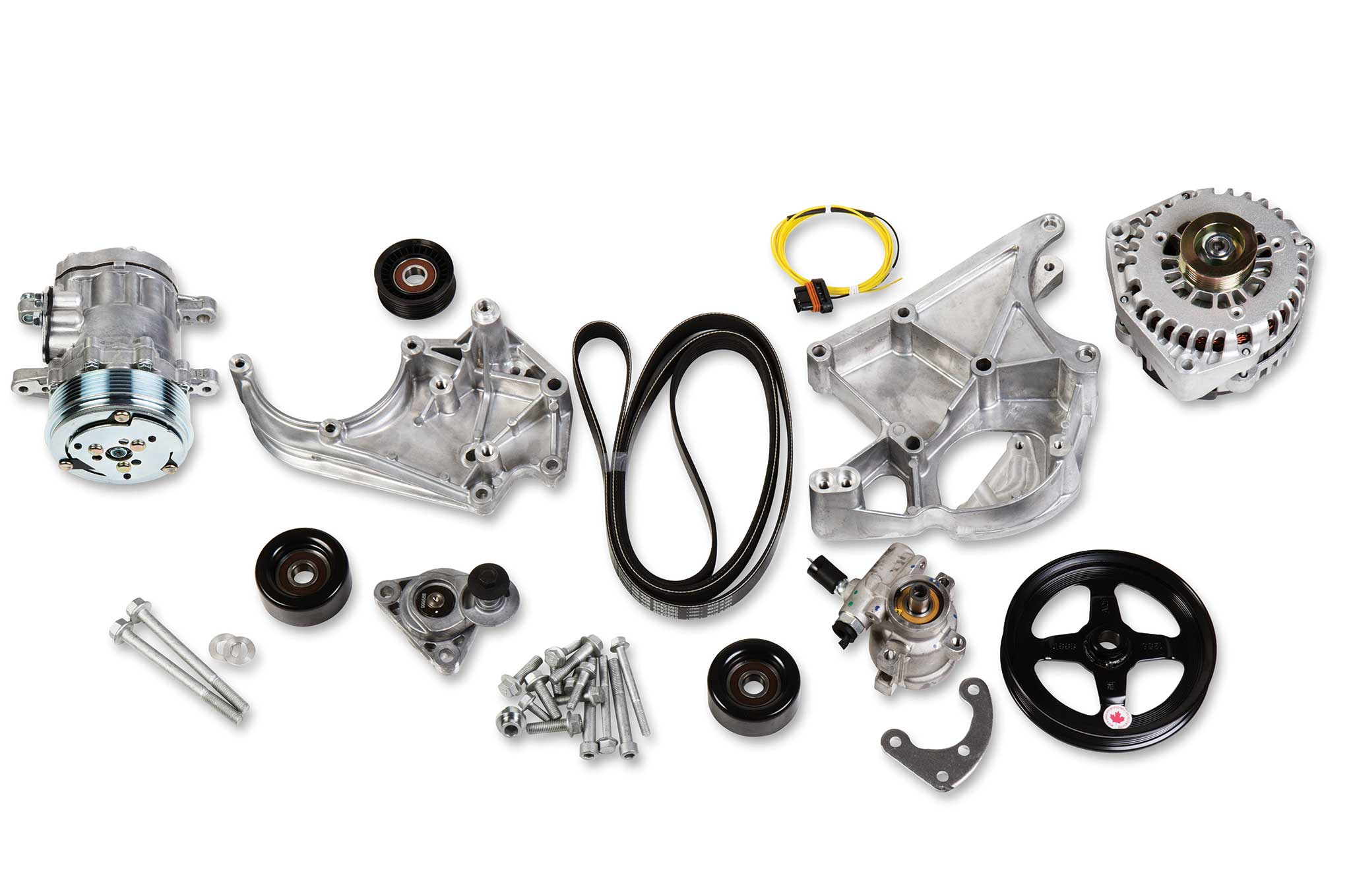holley ls engine accessories ls complete accessory drive kit