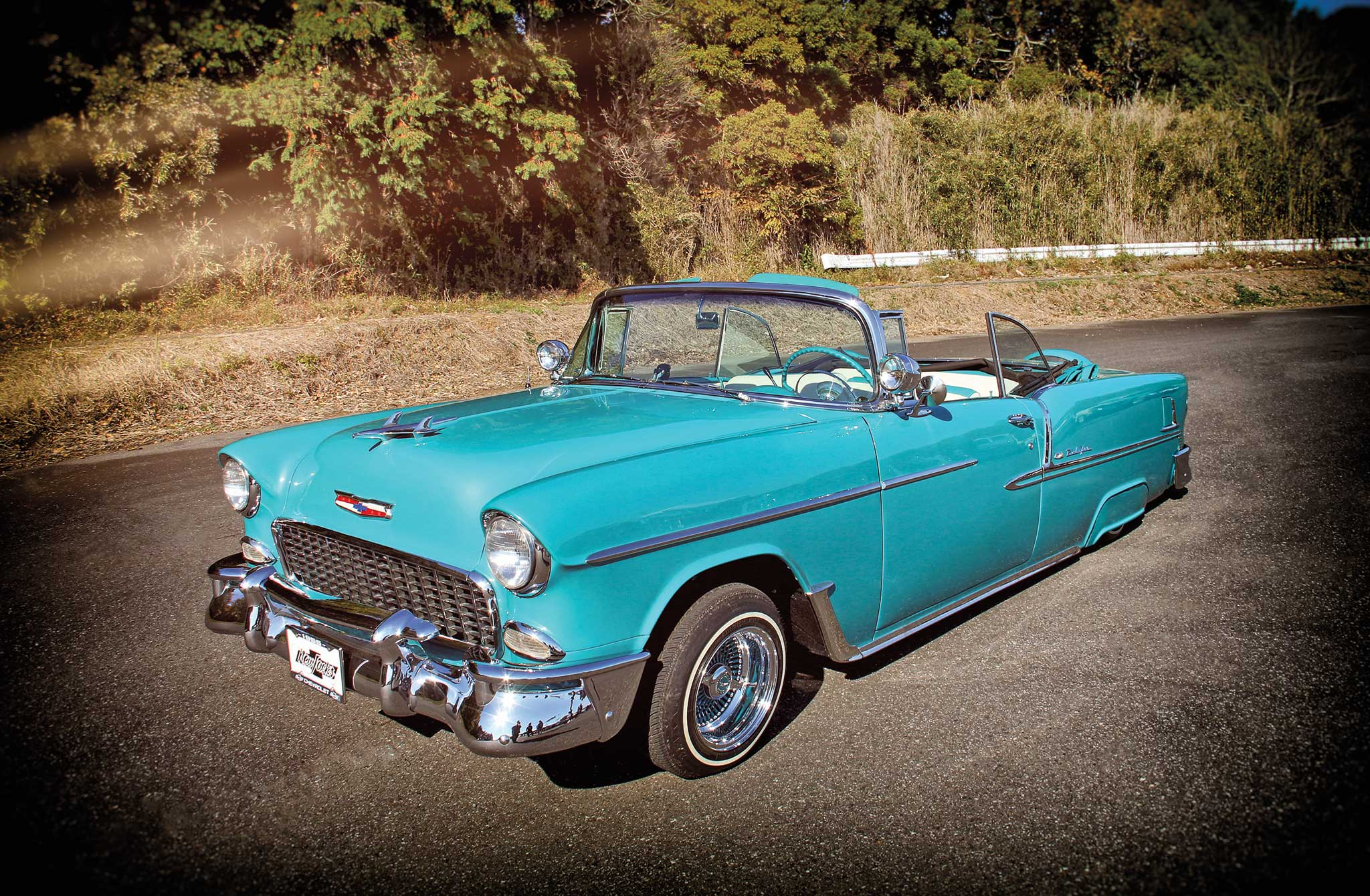 1955 Chevy Bel Air Convertible - American Classic In Japan