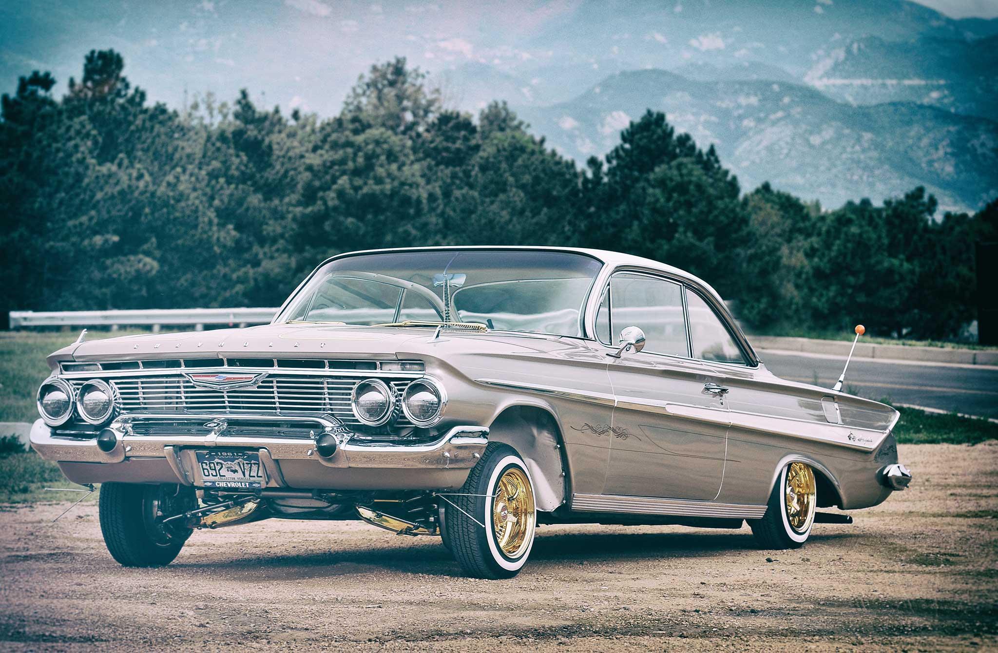 1961 chevrolet impala precious metals lowrider. Black Bedroom Furniture Sets. Home Design Ideas