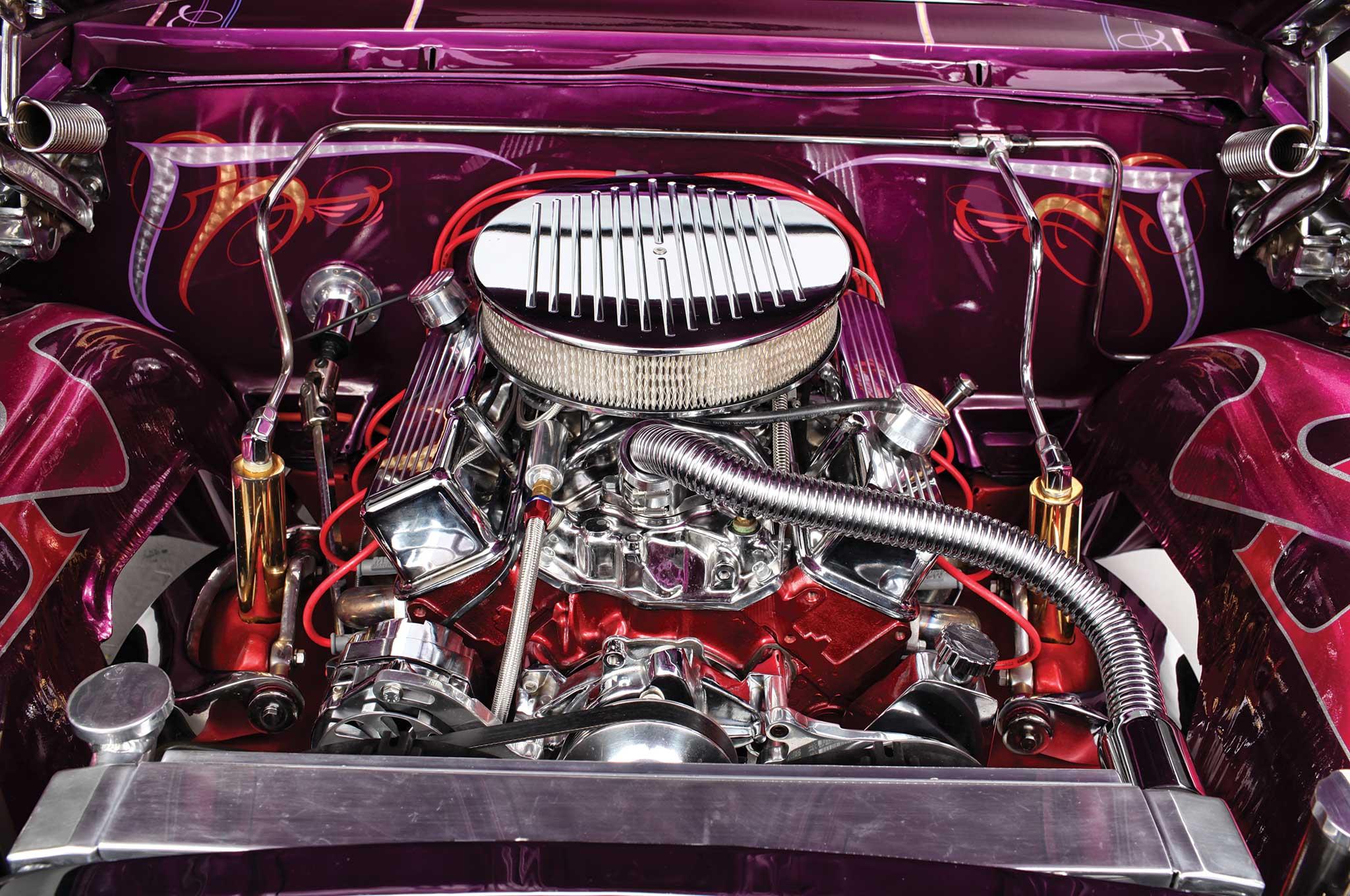 1962 chevrolet impala ss 350 engine 009
