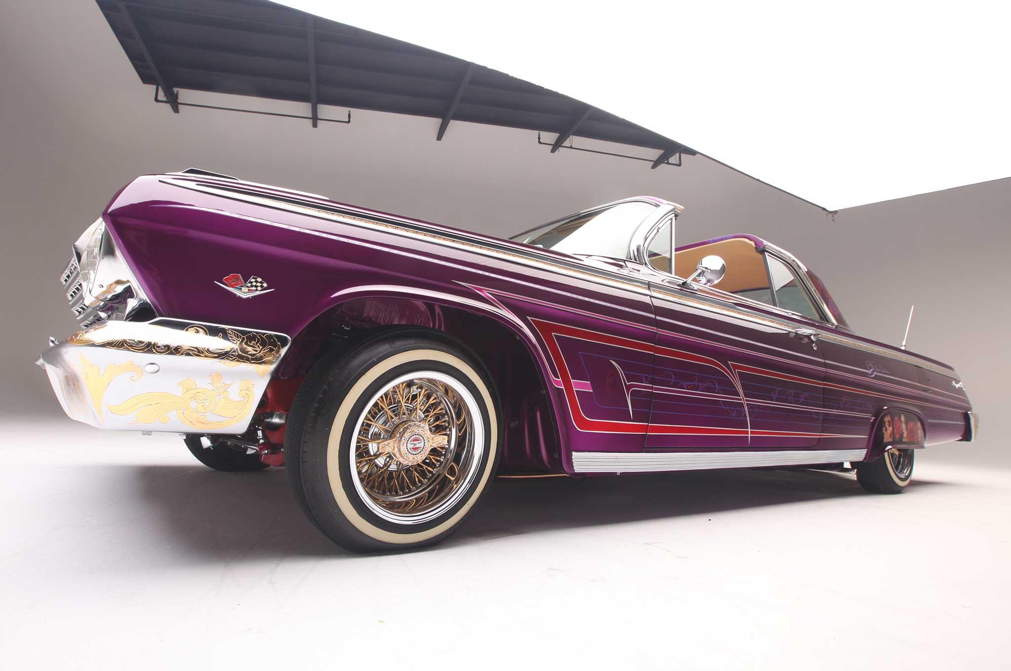 1962 chevrolet impala ss 72 spoke zenith 012