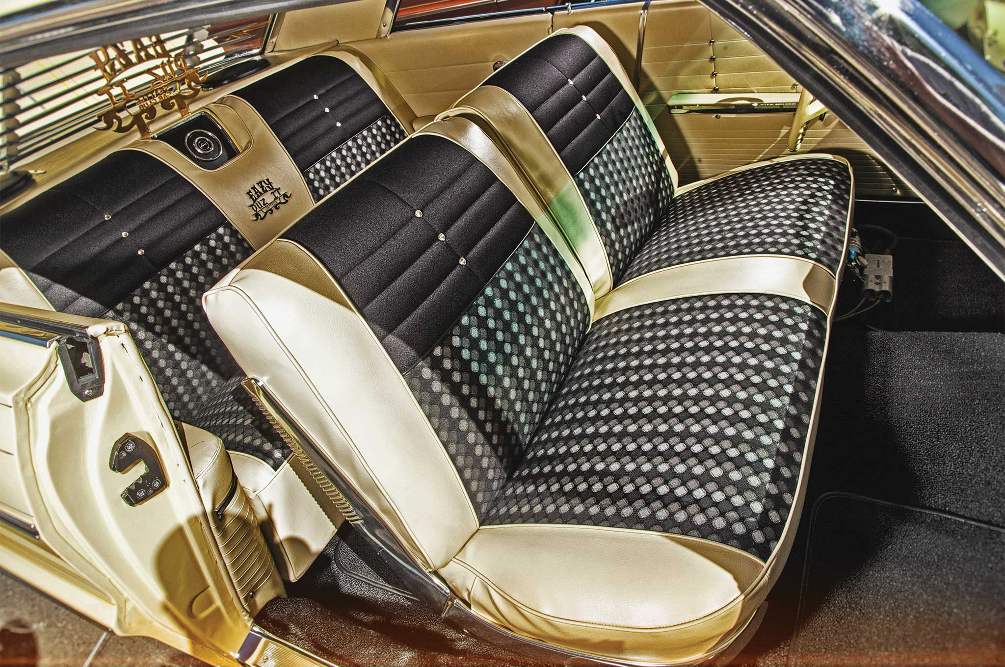 Corona Cream paint is complemented nicely with this interior package.