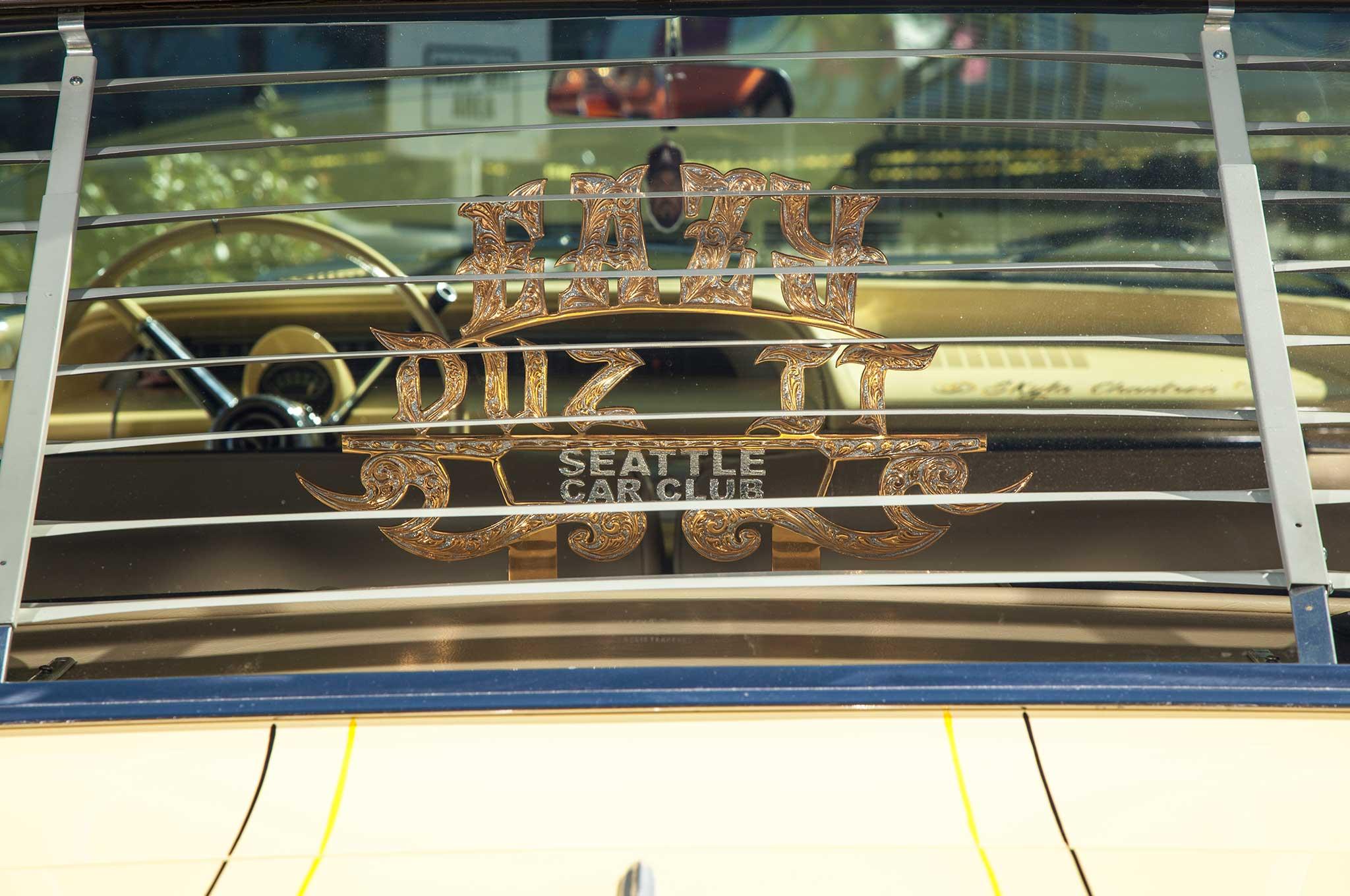 1964 chevrolet impala eazy duz it club plaque 010