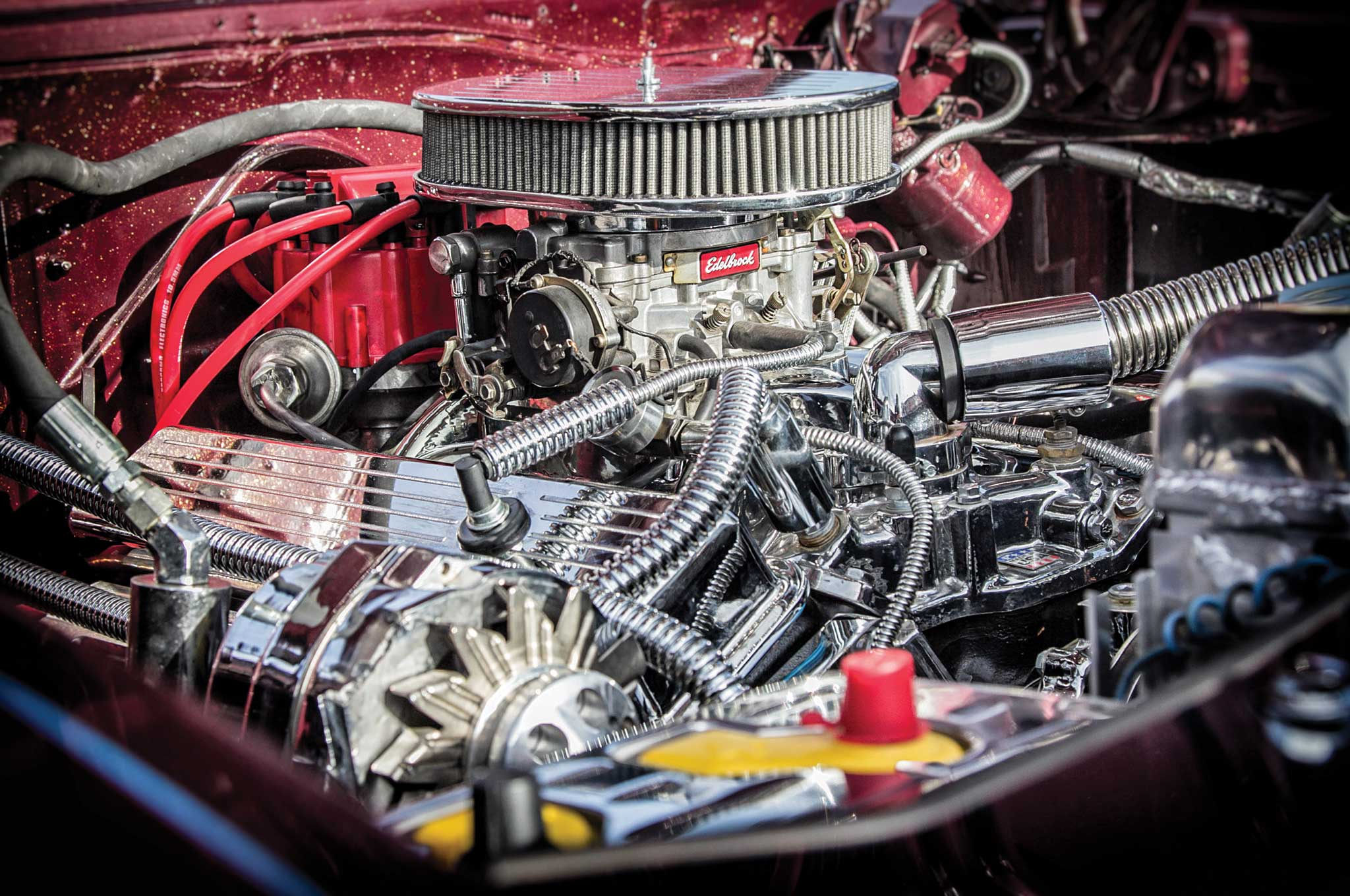 1966 chevrolet impala chevy small block 350 005
