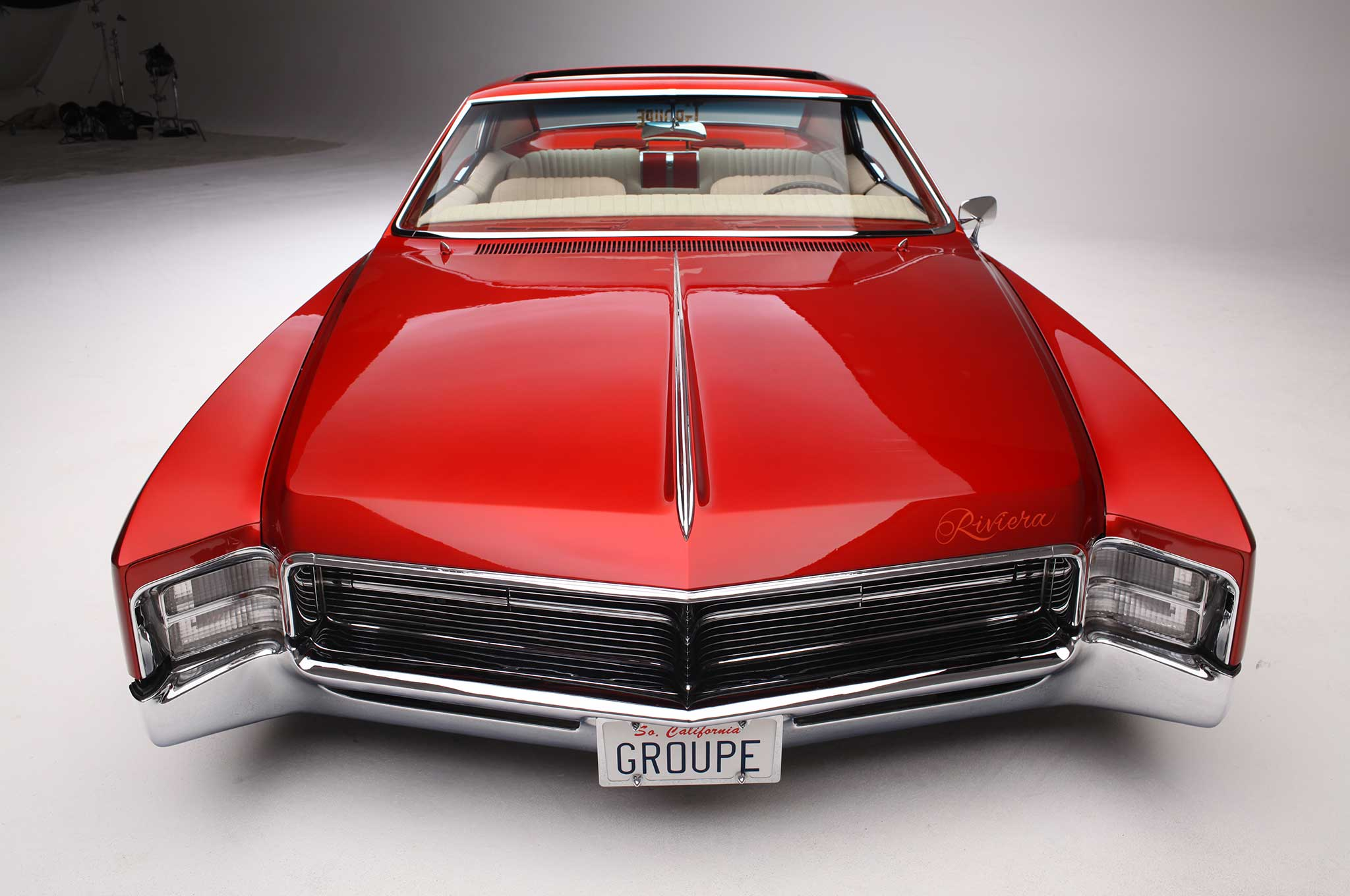 1967 buick riviera front bumper 049