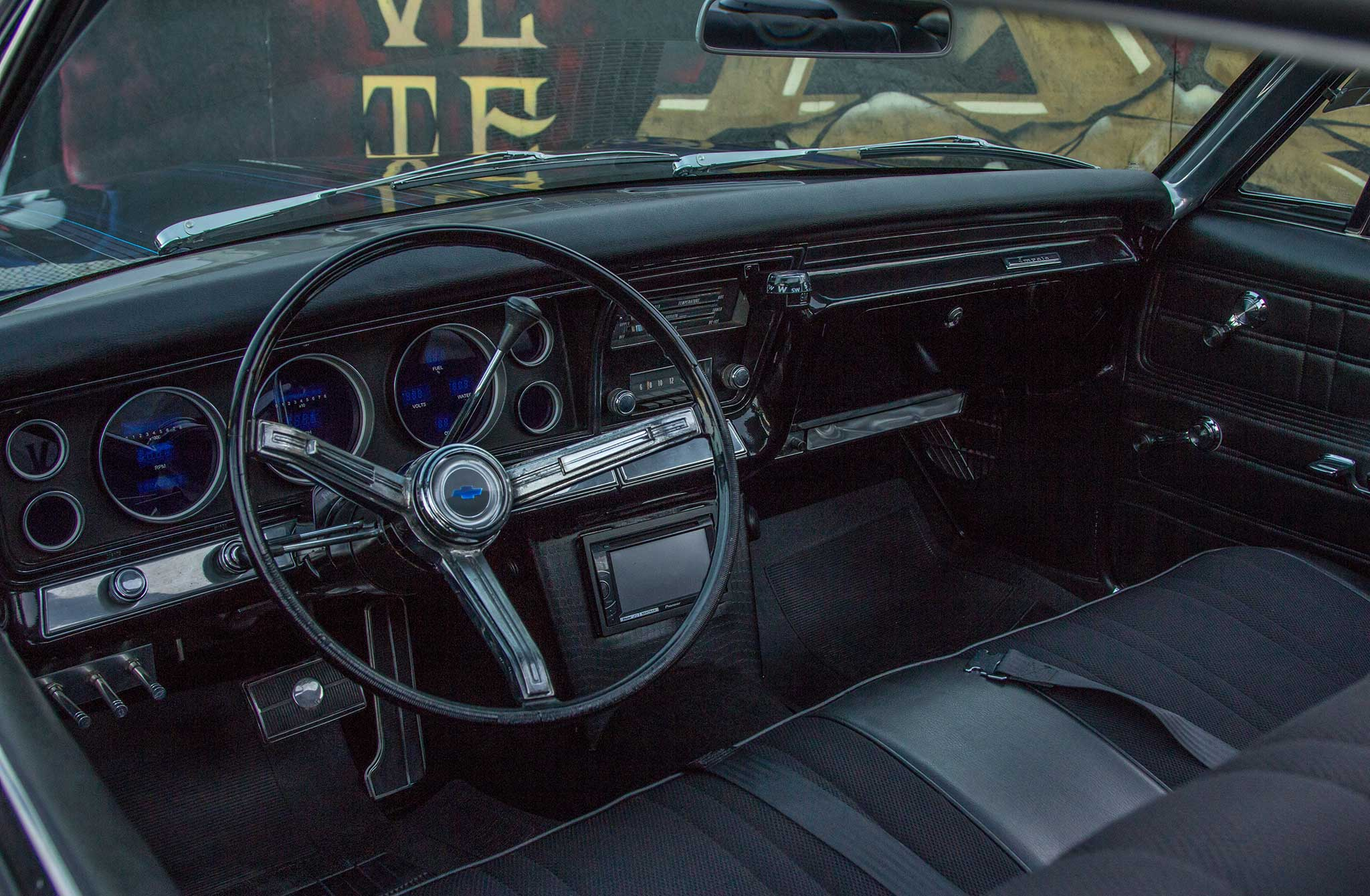 1967 chevrolet impala steering wheel 023