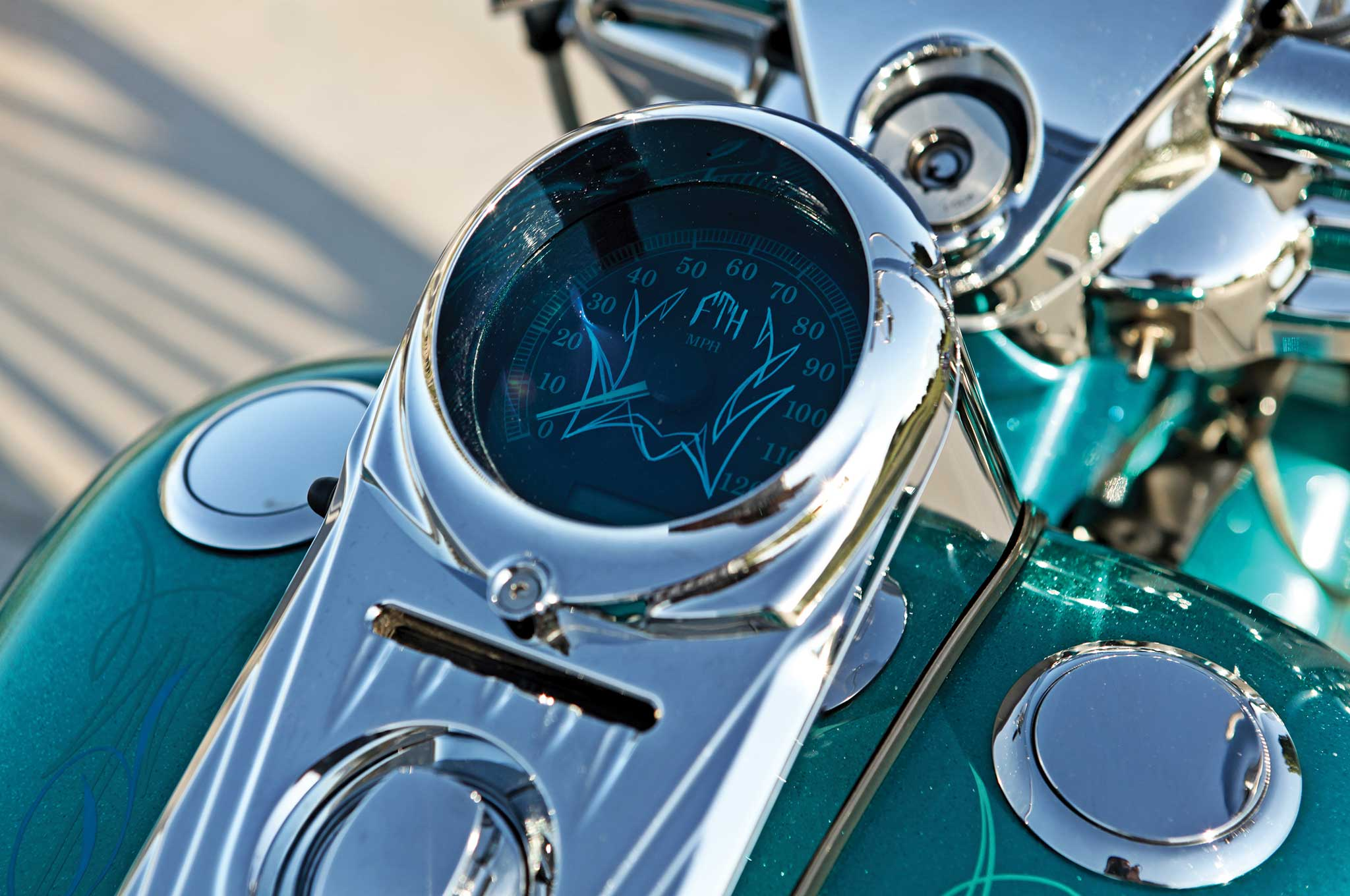 2004 harley davidson road king speedometer 004