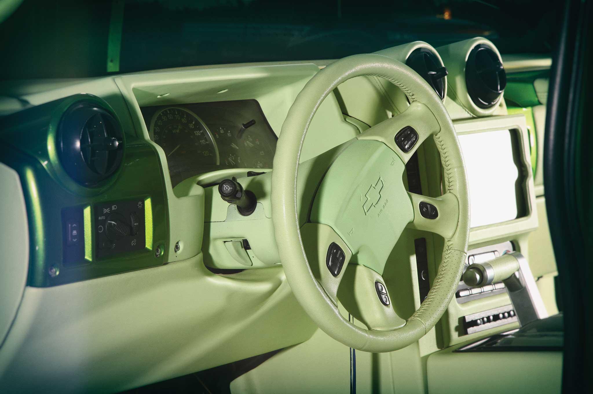 2005 hummer sut steering wheel 004