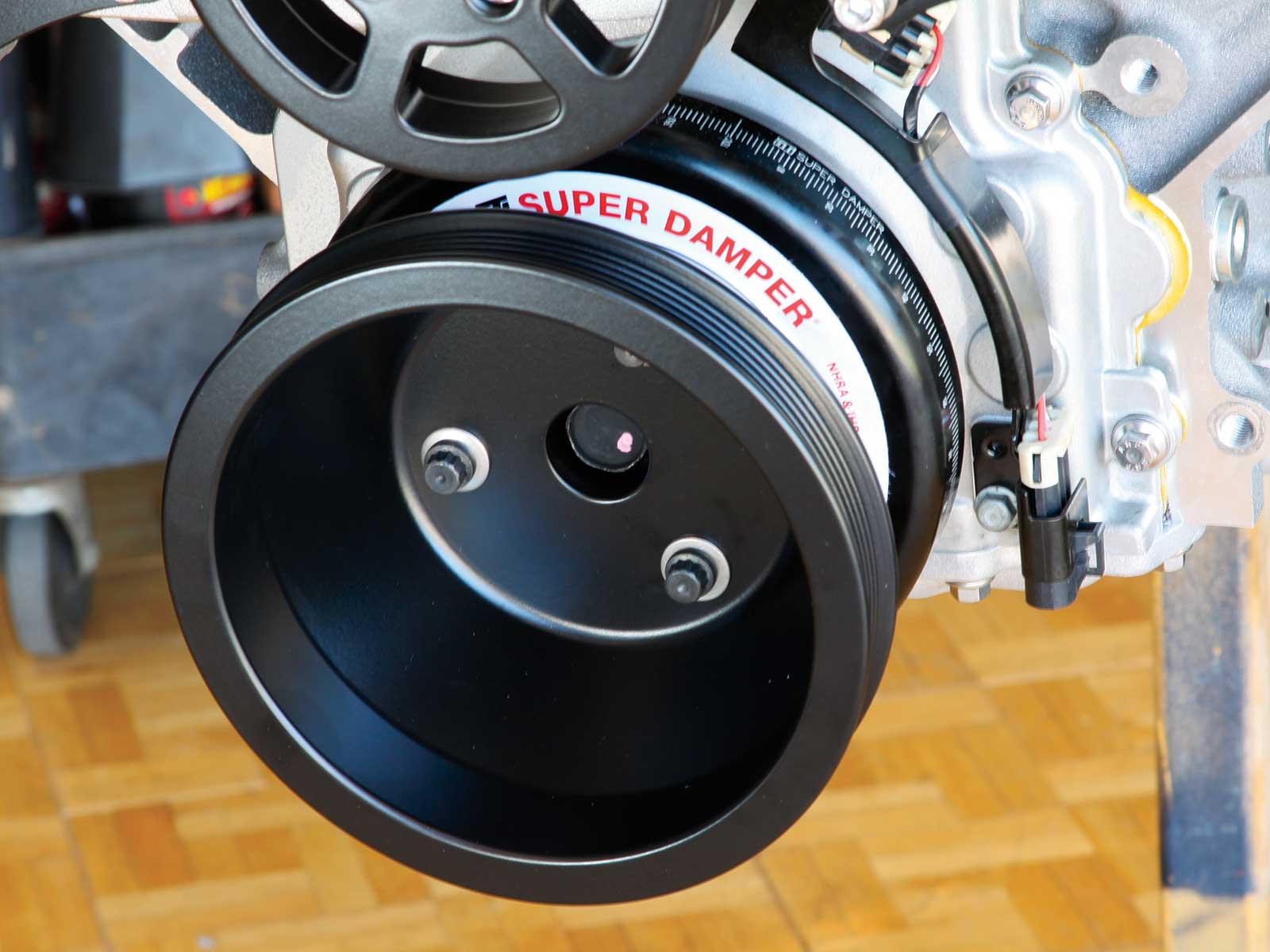 1601 Eddie Motorsport Serpentine S Drive Pulley System