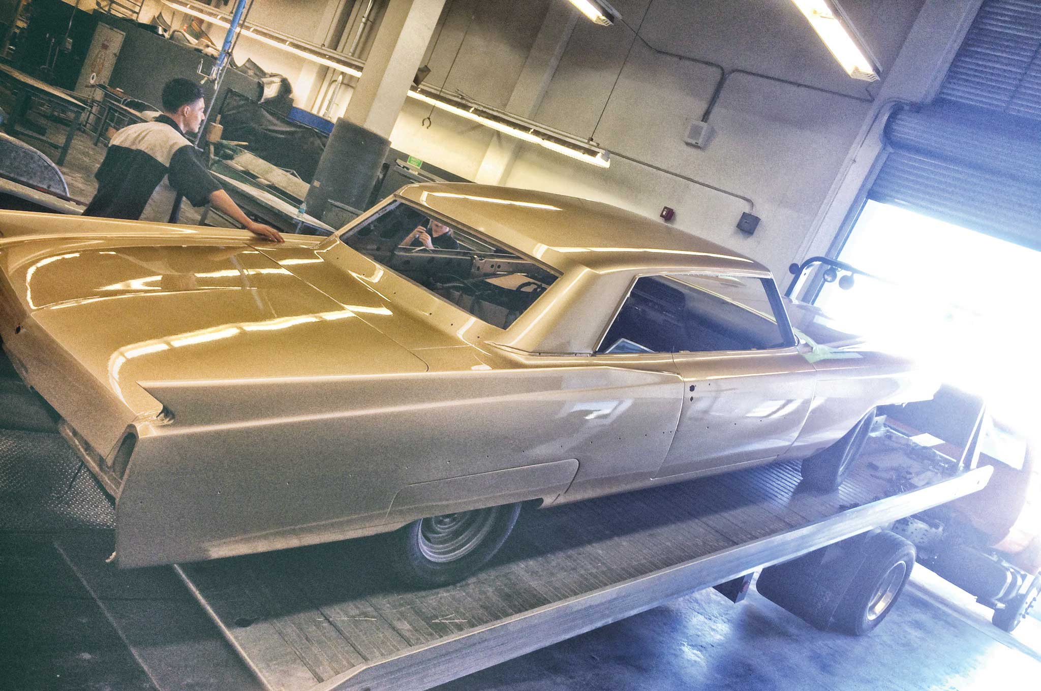painting our 64 cadillac 019
