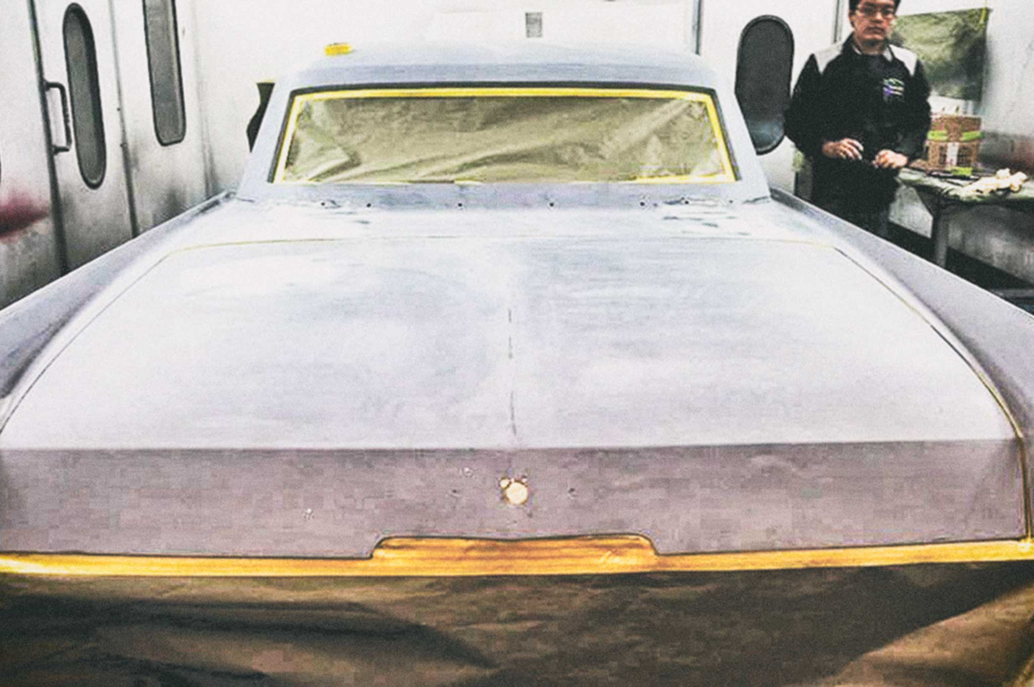 painting our 64 cadillac body sealing 011
