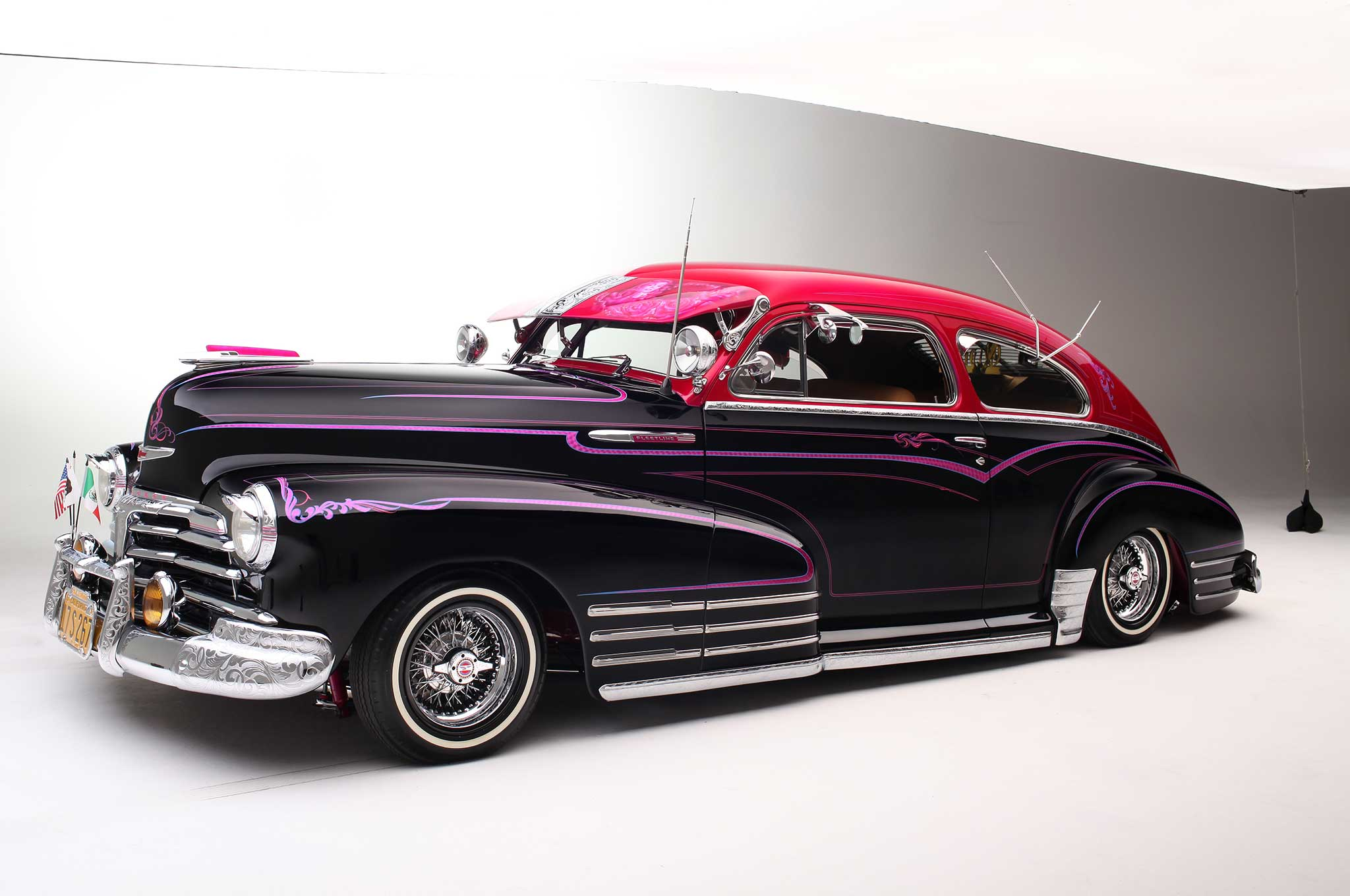 1948 Chevrolet Fleetline - Bombing Tinseltown - Lowrider