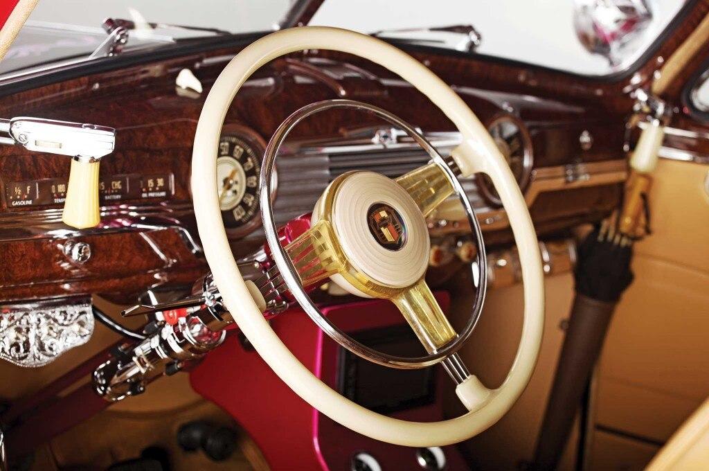 1948 chevrolet fleetline steering wheel 011