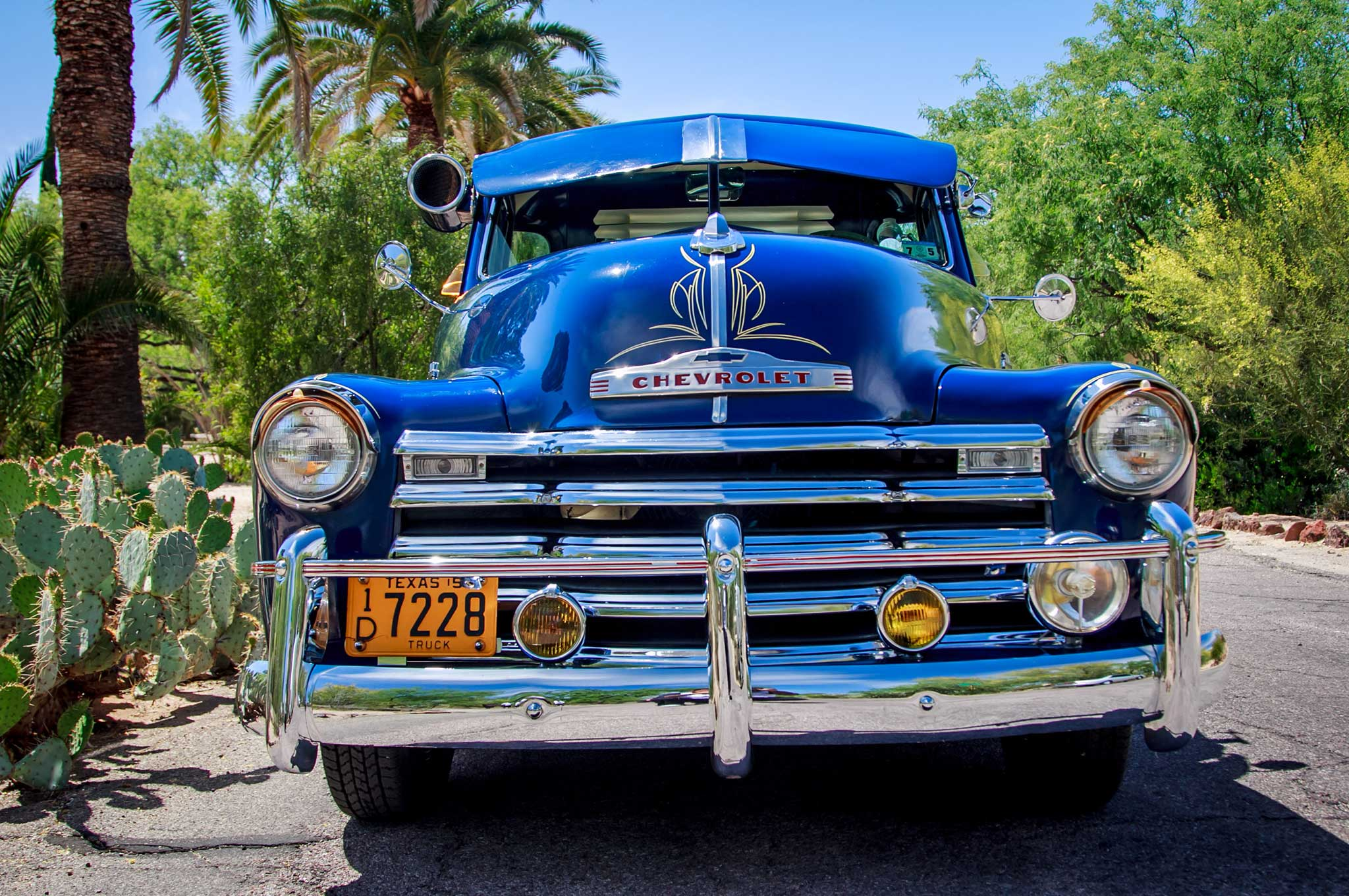1953 chevrolet 235 front bumper 009