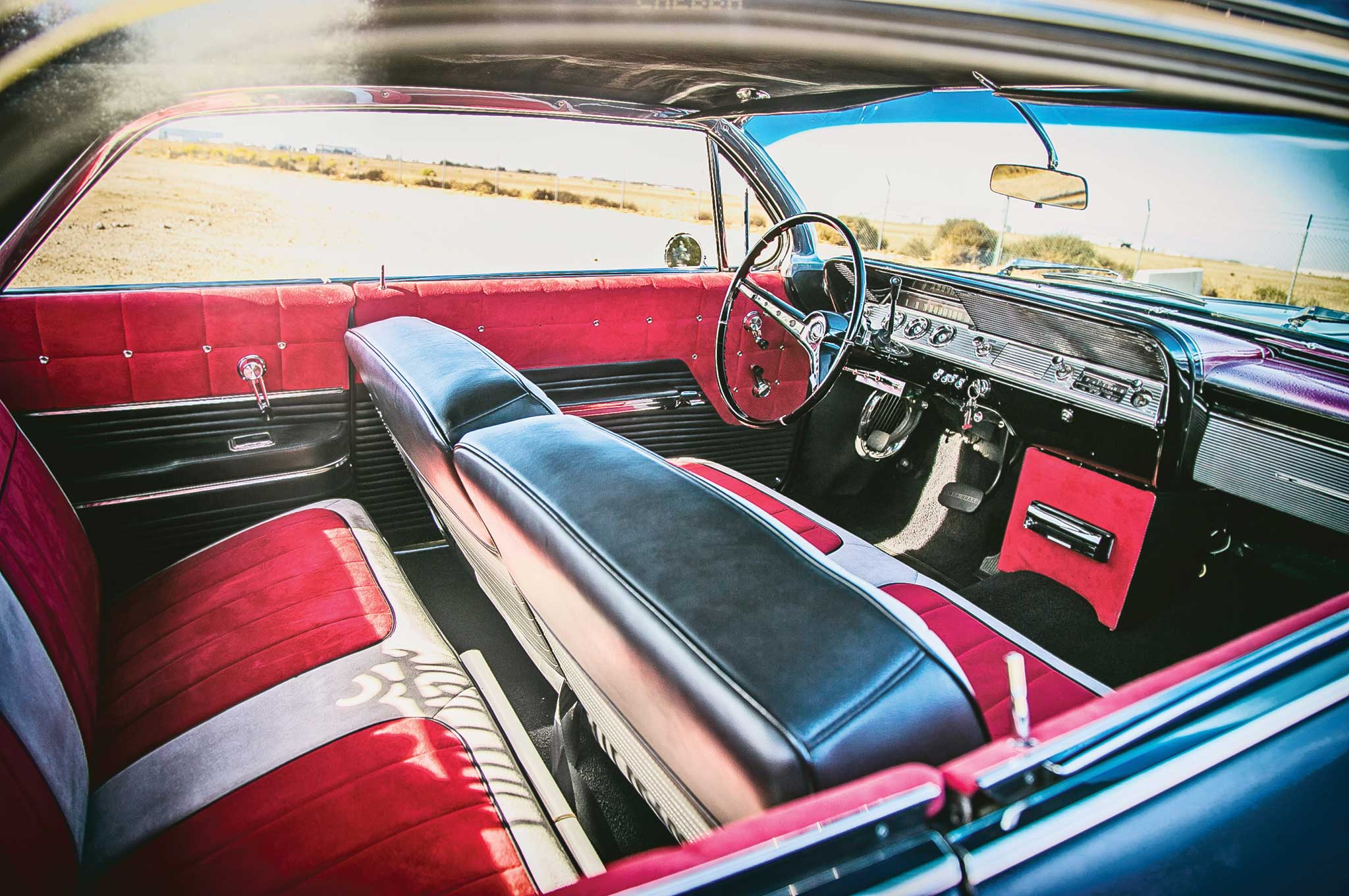1962 chevrolet impala inyl and suede interior 006