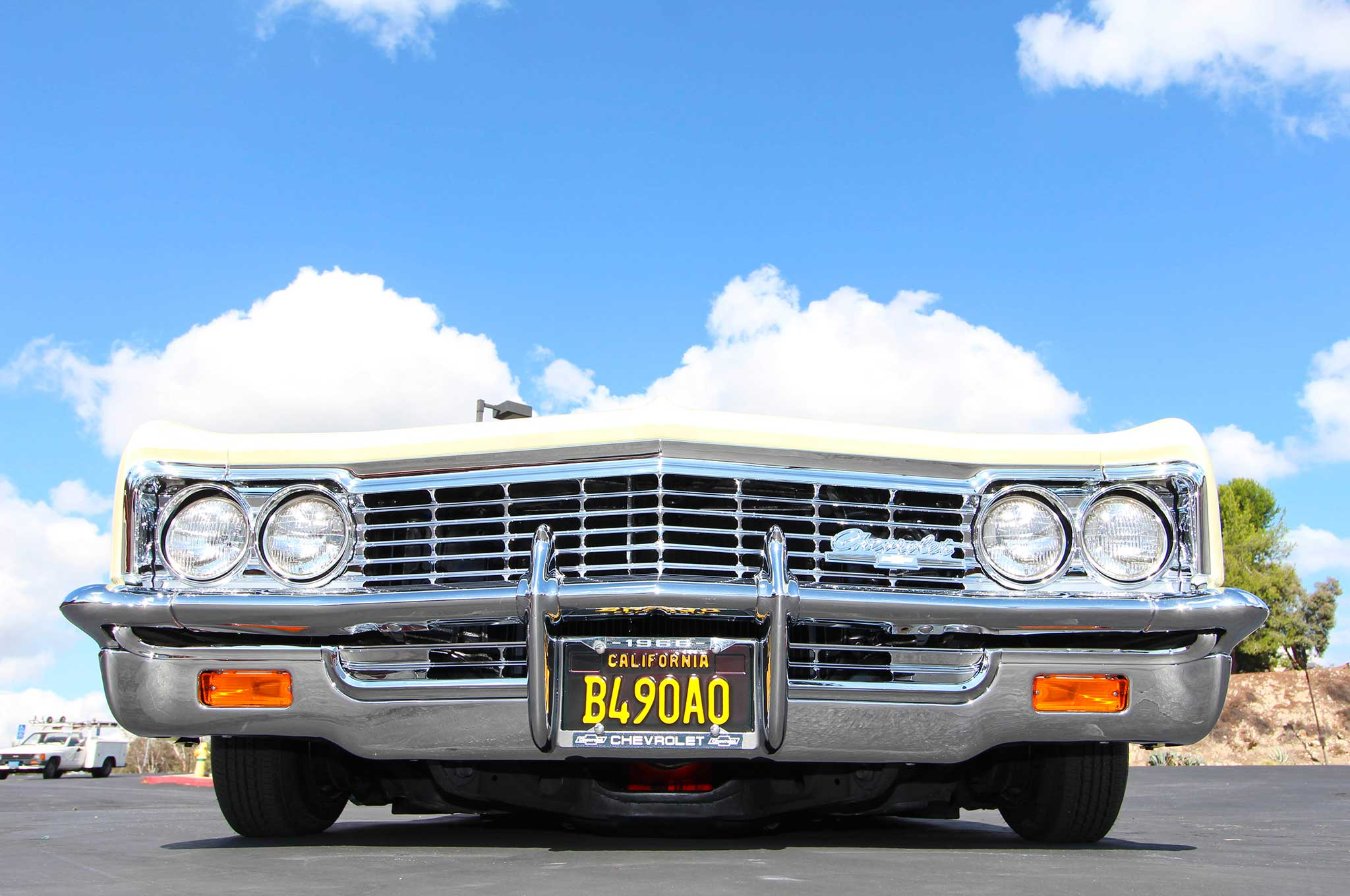1966 chevrolet caprice front grill 009