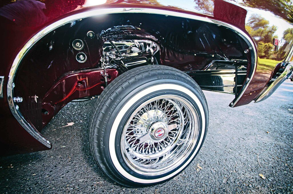 1967 chevrolet impala convertible zenith 72 cross laced spoke chrome rim 004