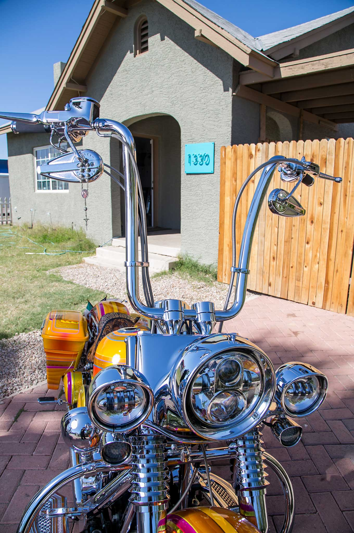 Harley Davidson Fat Boy Headlight