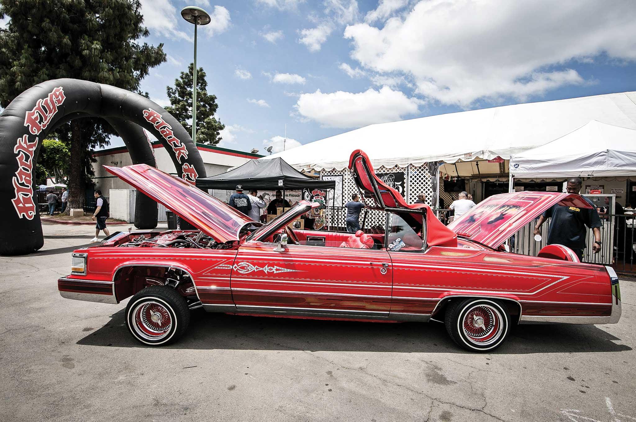 cadillac lowrider fest deville convertible