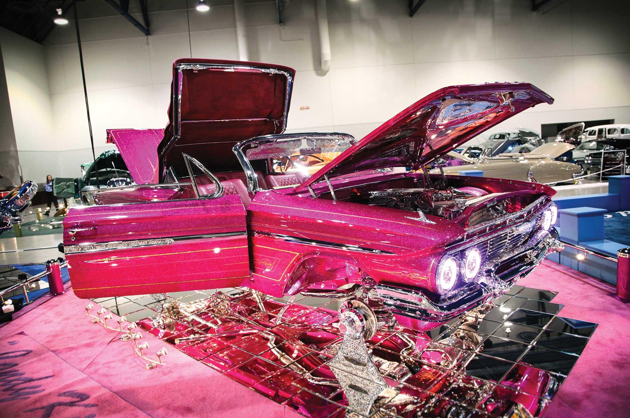 2015 lowrider super show las vegas chevy impala 021