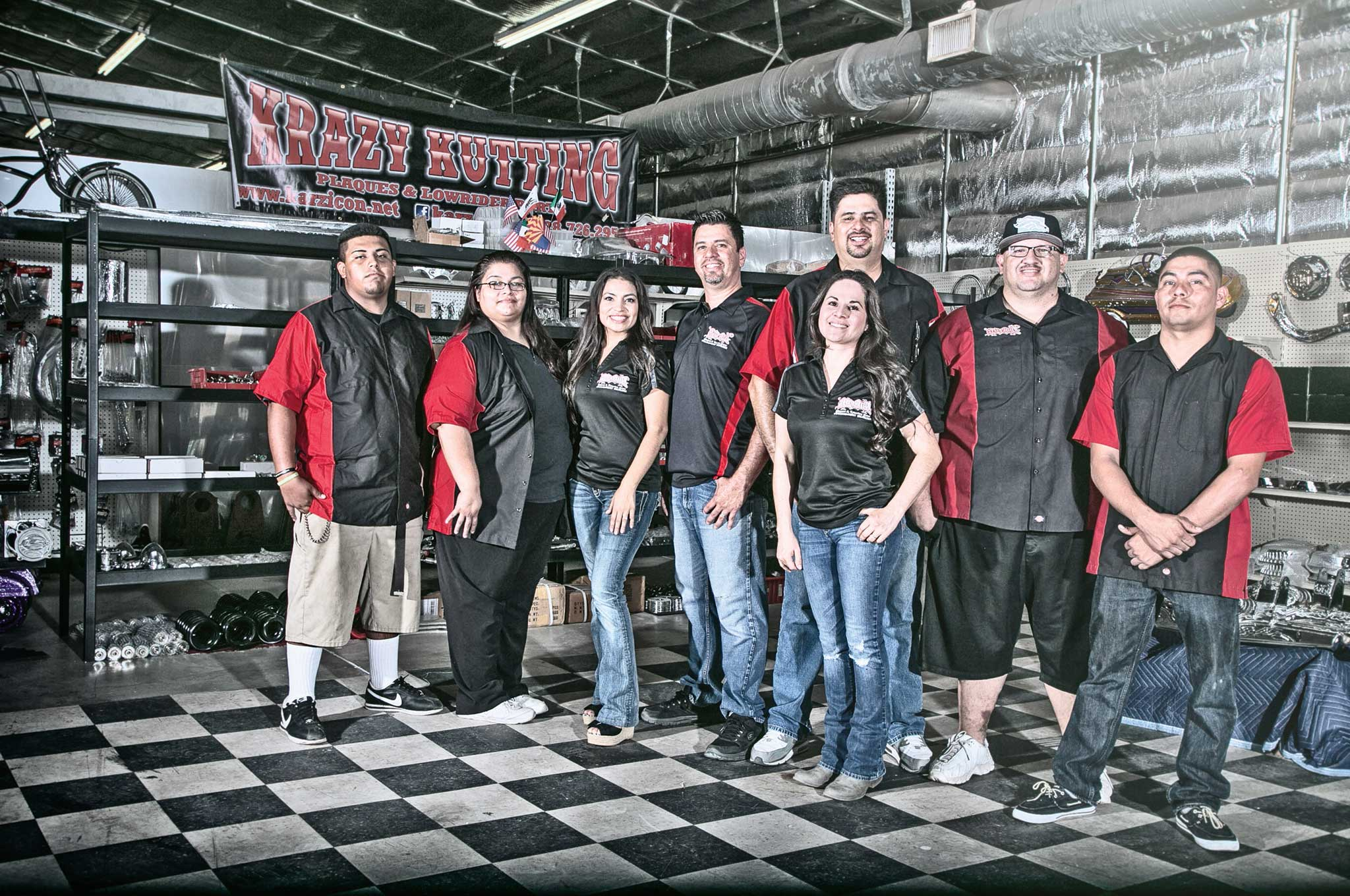 In-house, one-off custom metal fabrication for all lowriders