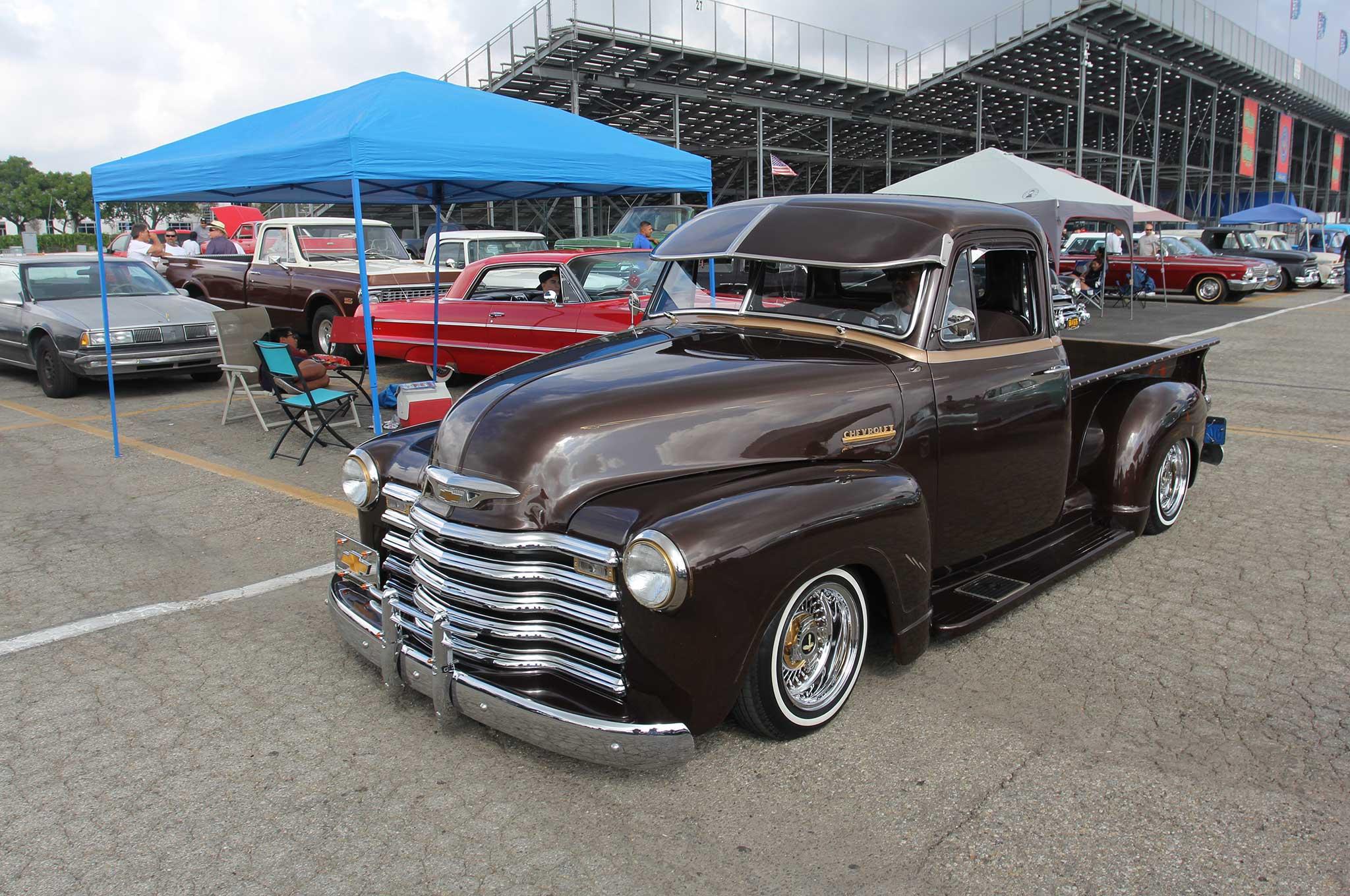 Pomona Swap Meet Classic Car Show Lowrider