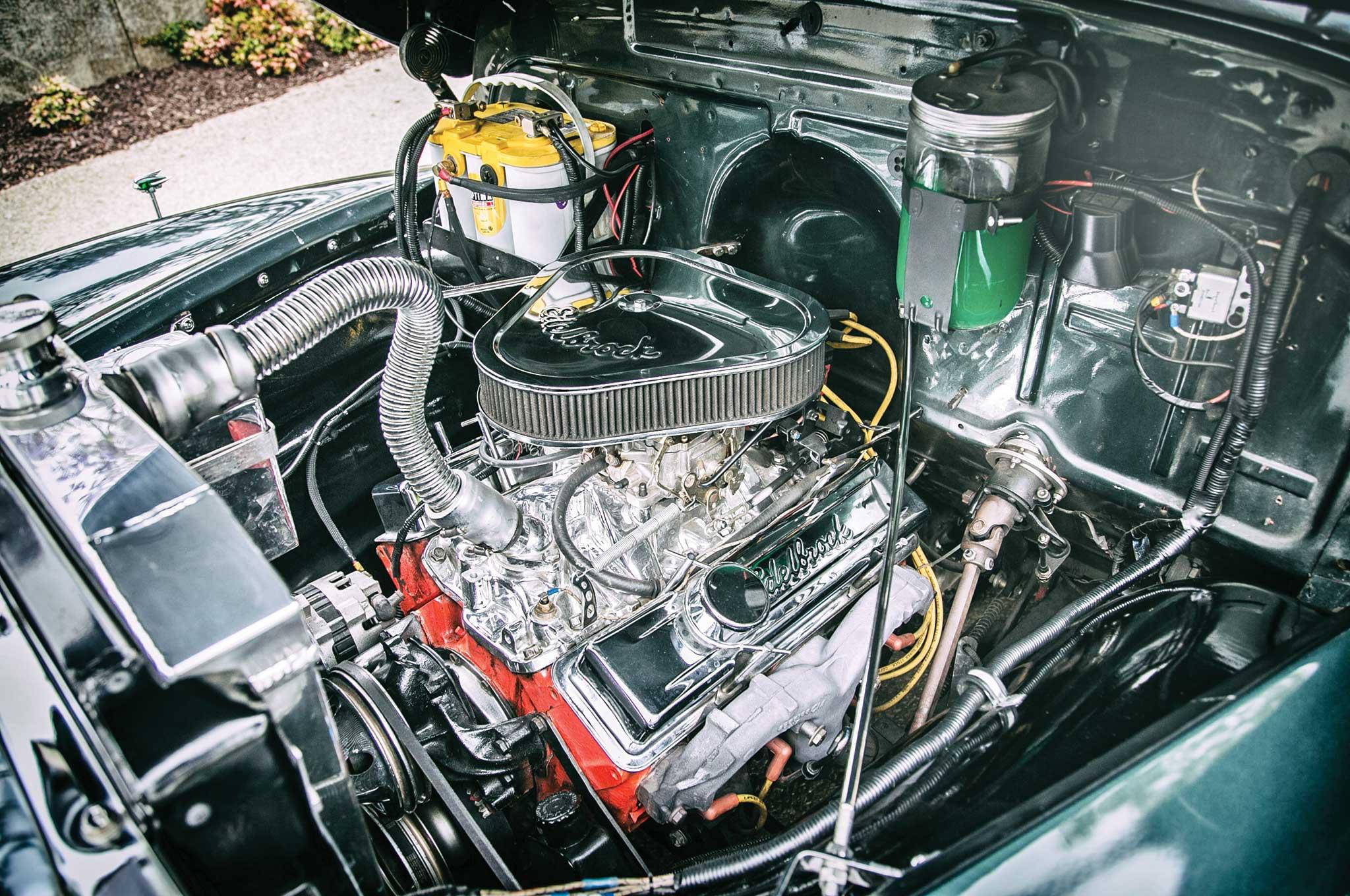 1954 chevrolet 3100 el don lowrider for 350 chevy truck motor