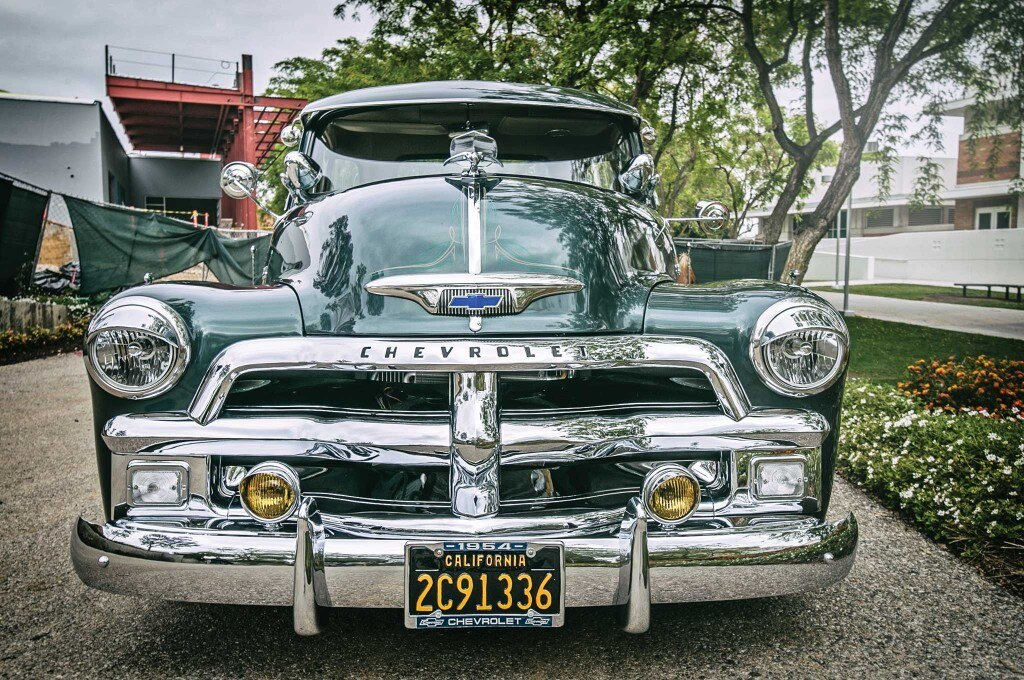 1954 chevrolet 3100 front grill 004