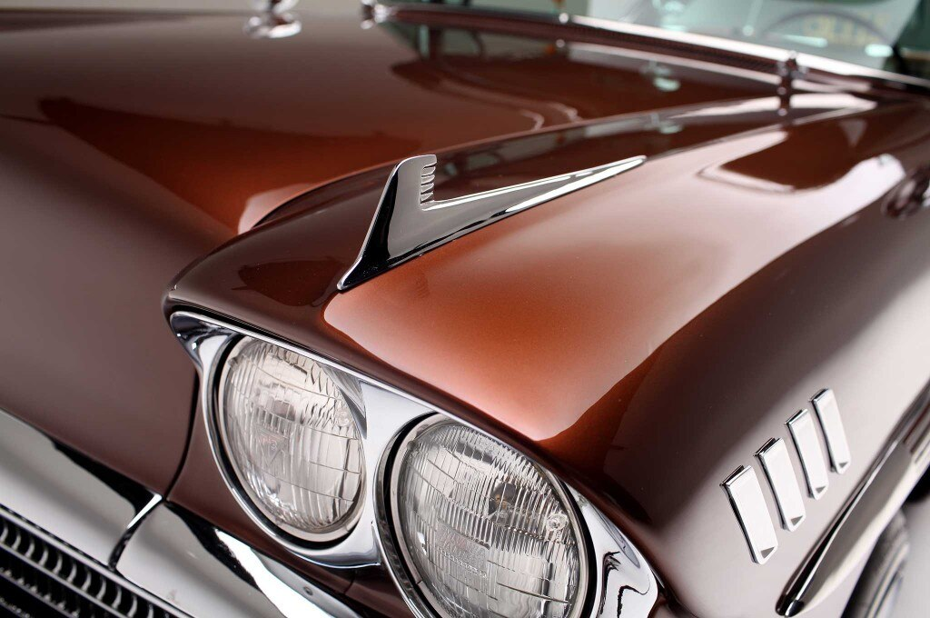 1958 chevrolet impala fender fin 028