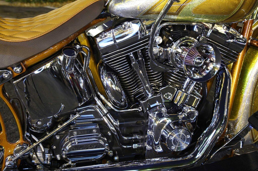 2005 harley davidson softail deluxe velocity stack air cleaner 017