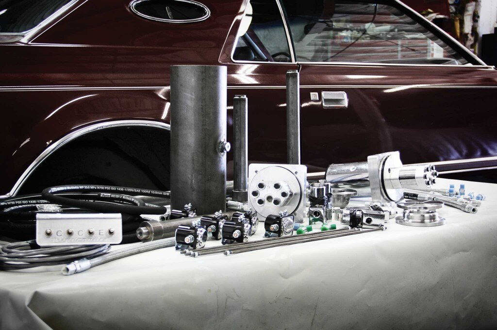 Hydraulic suspension is what makes a lowrider truly stand apart from the rest.