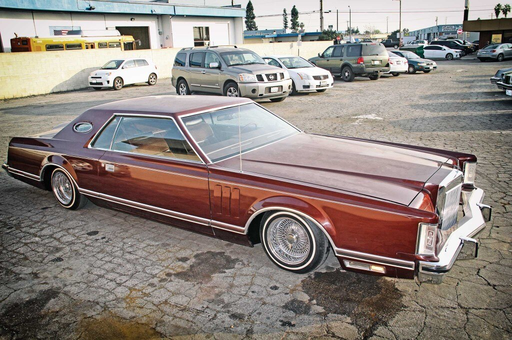 79 lincoln continental mark v hydraulics install project car 025
