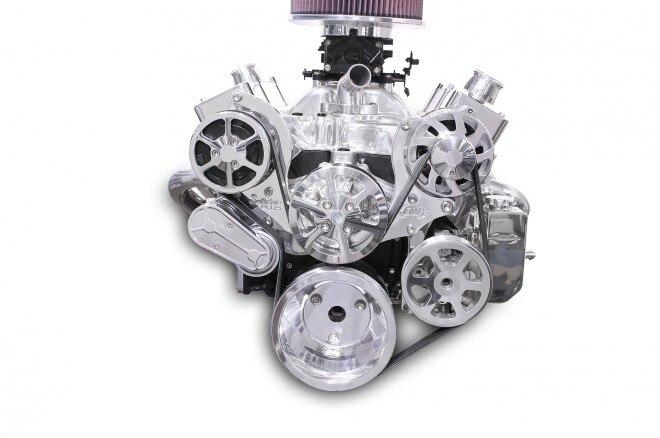 eddie motorsports s drive plus serpentine pulley kit 8 rib