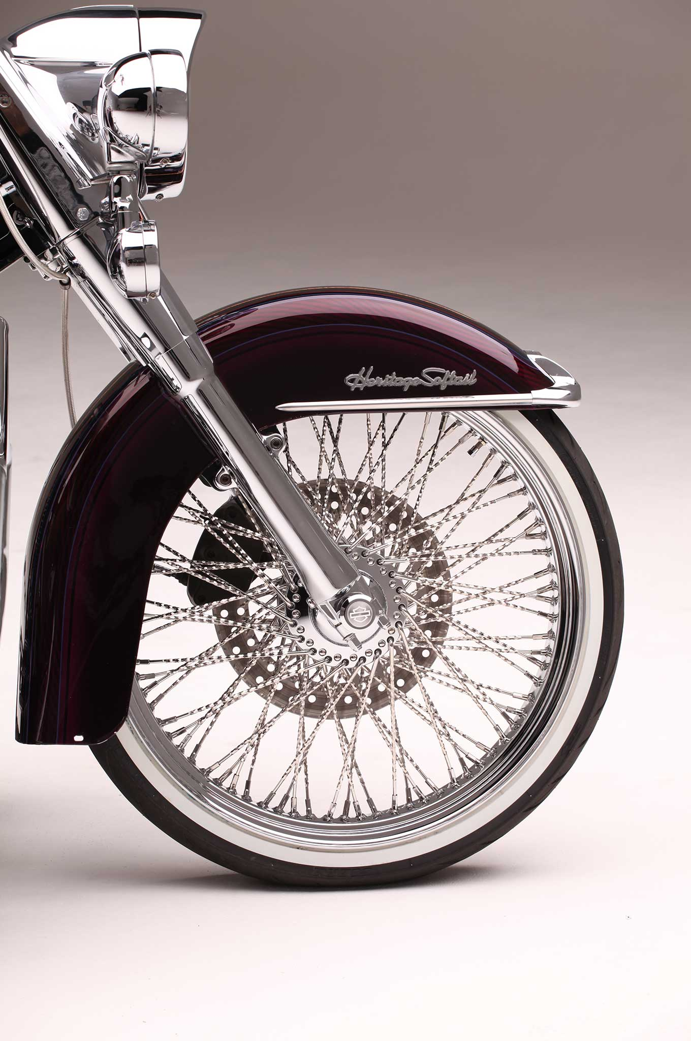 Used Harley Davidson Wheels >> Heritage Softail & Softail Deluxe - Two Harleys, One Painter