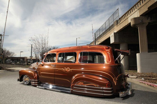 This 1948 Chevrolet Suburban Was A Trade Up
