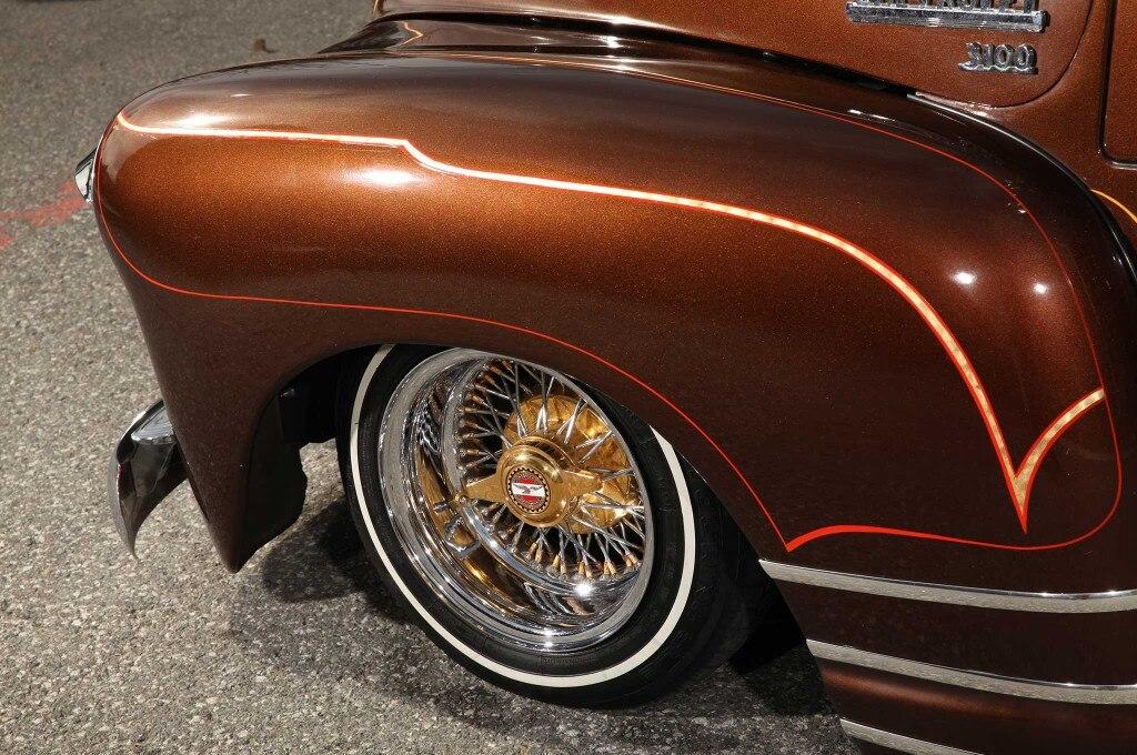 1948 chevrolet suburban front fender zenith wire wheel