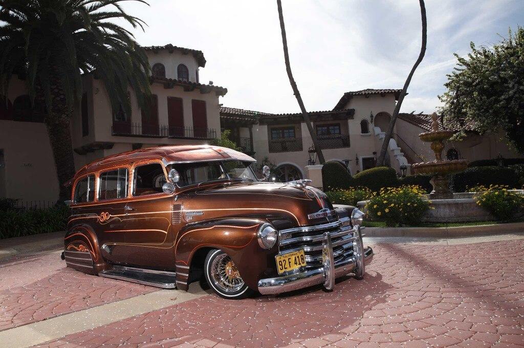 1948 chevrolet suburban front passenger side