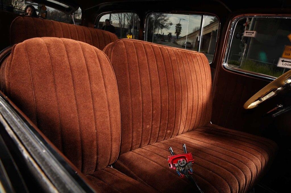 1948 chevrolet suburban velour original pattern