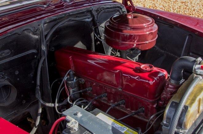 1952 chevrolet fleetline 235 straight six