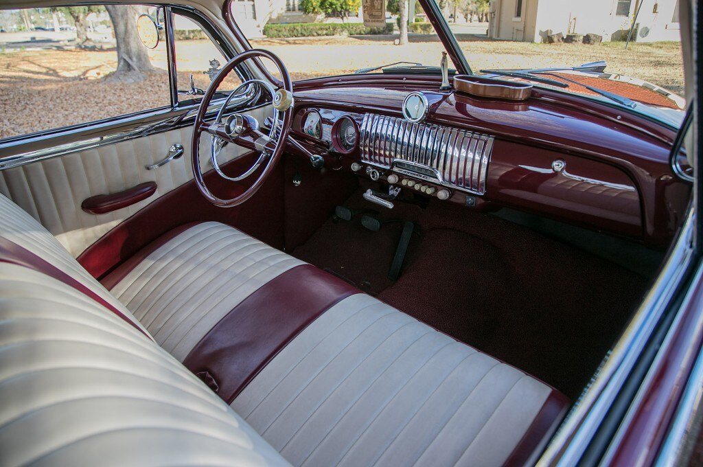1952 chevrolet fleetline front seat dash