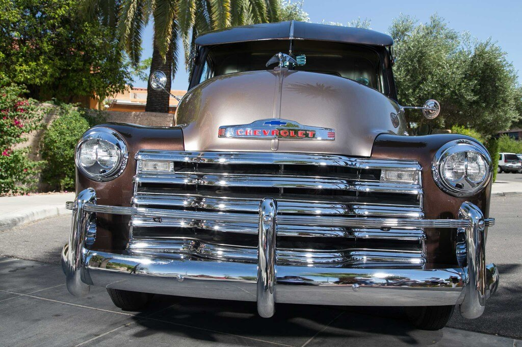 1953 chevrolet 3100 front grill 015