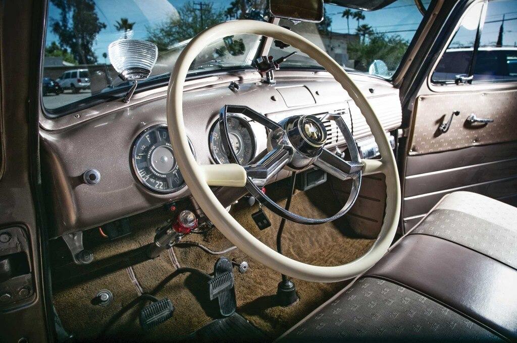 1953 chevrolet 3100 steering wheel 005