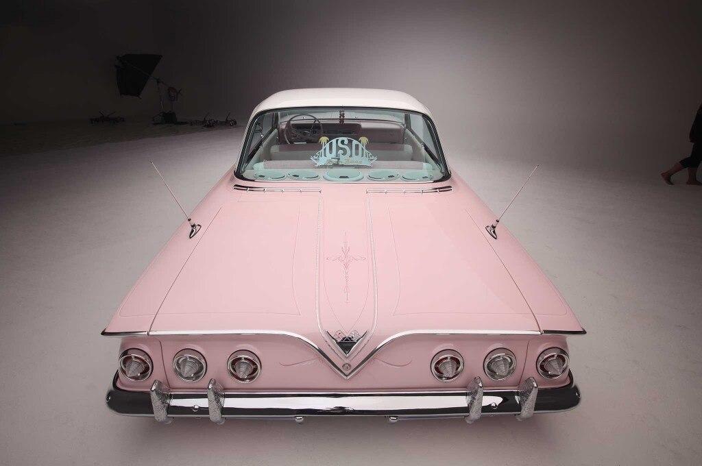 1961 chevrolet impala upper rear
