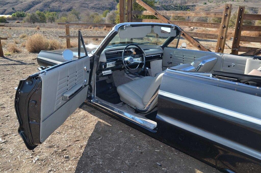 1964 chevrolet impala ss convertible original style upholstery 006