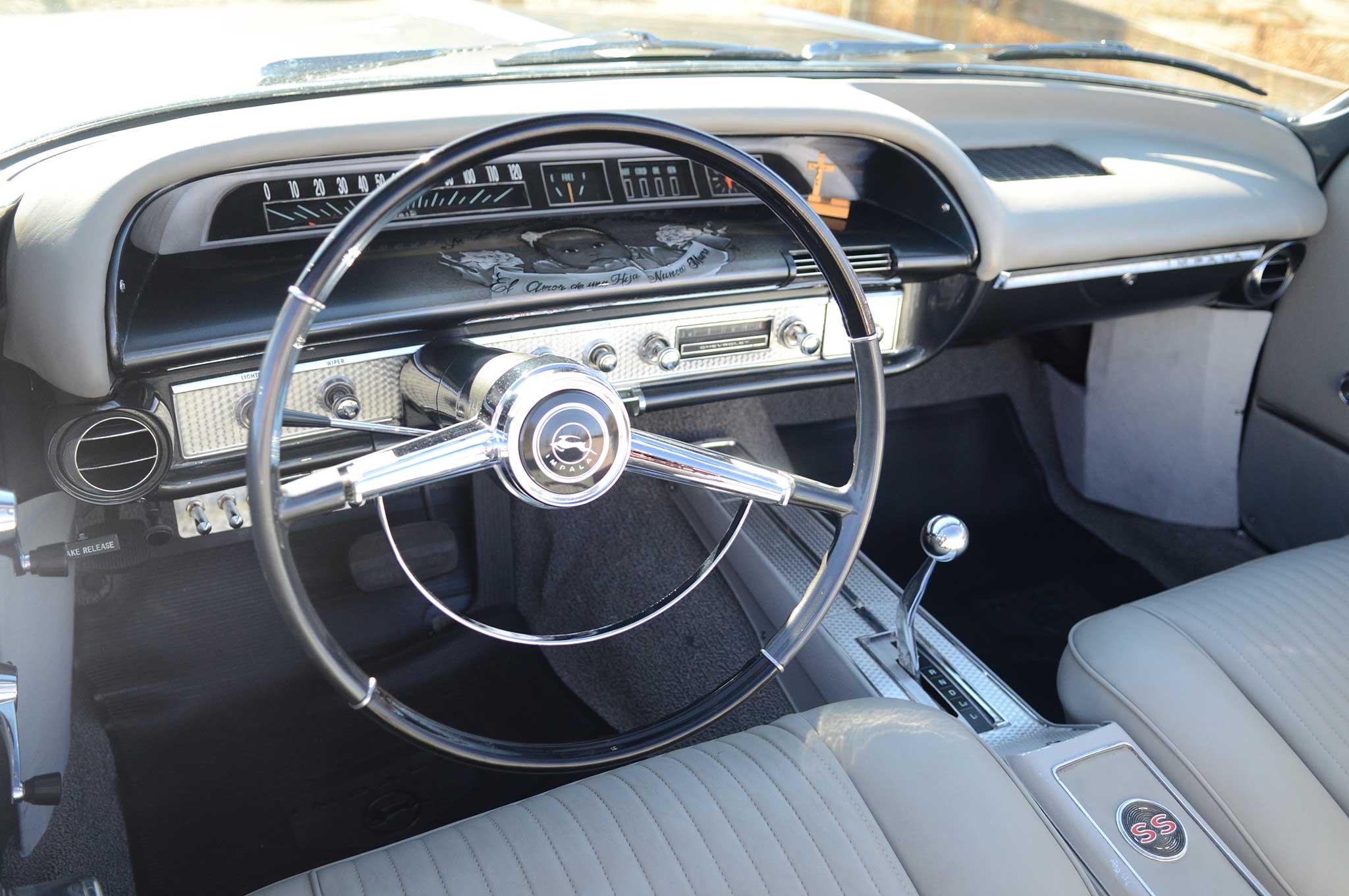 Rebuilding a 1964 Chevrolet Impala SS Convertible
