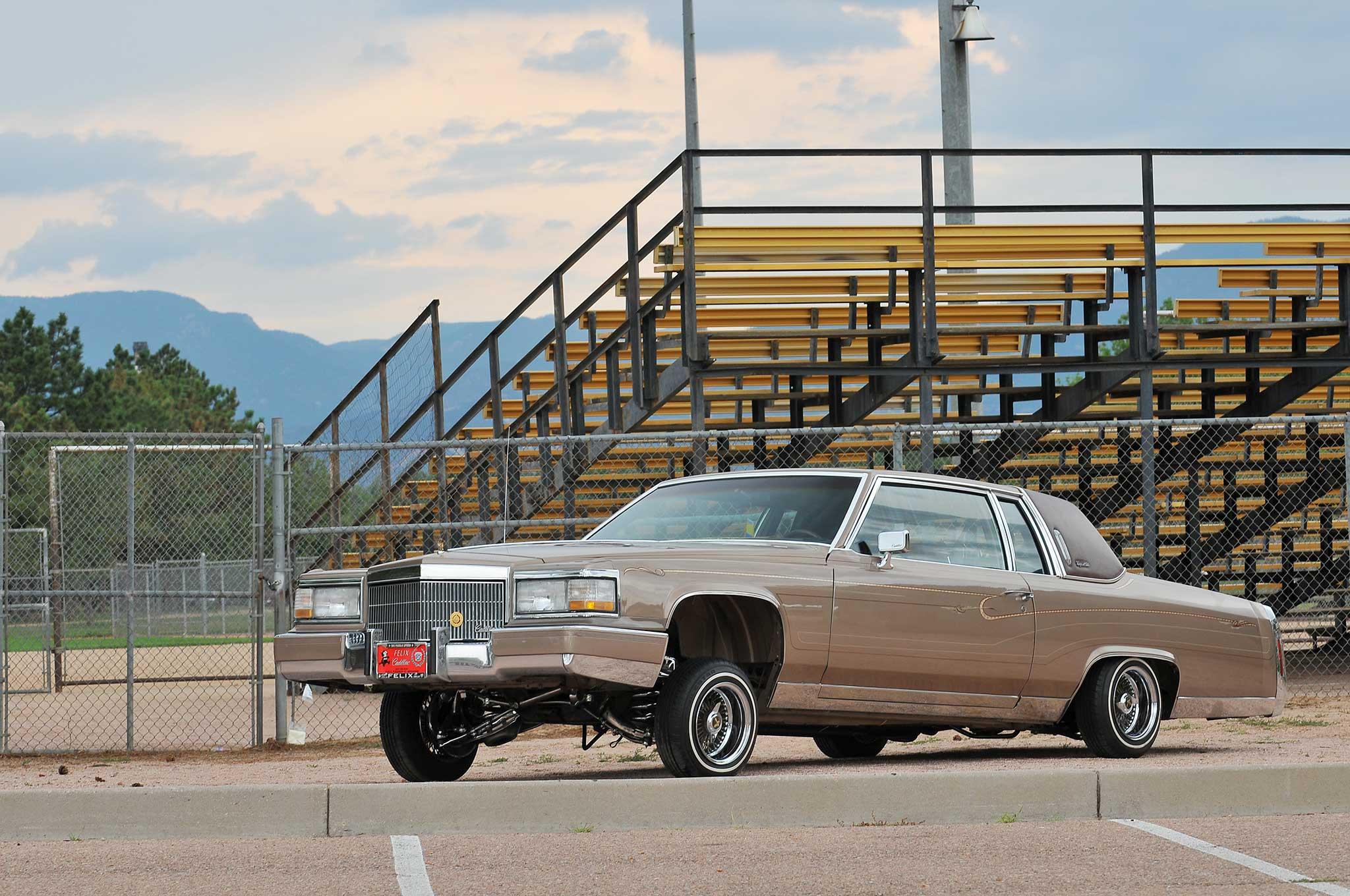 1982 Cadillac Coupe De Ville Doin His Thing