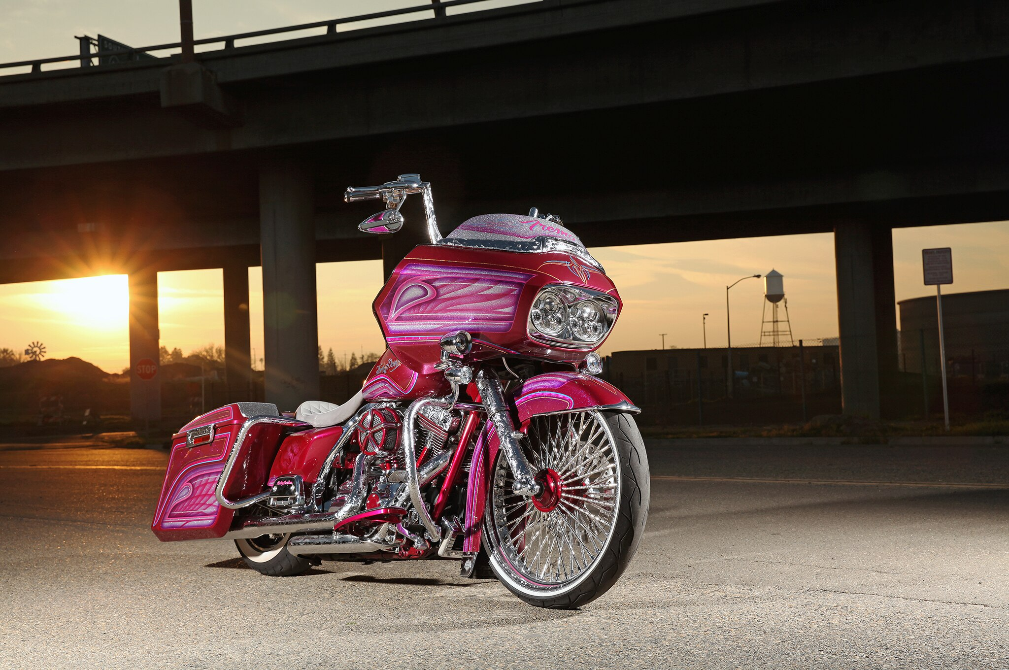 2012 harley davidson road glide - the price of dreams