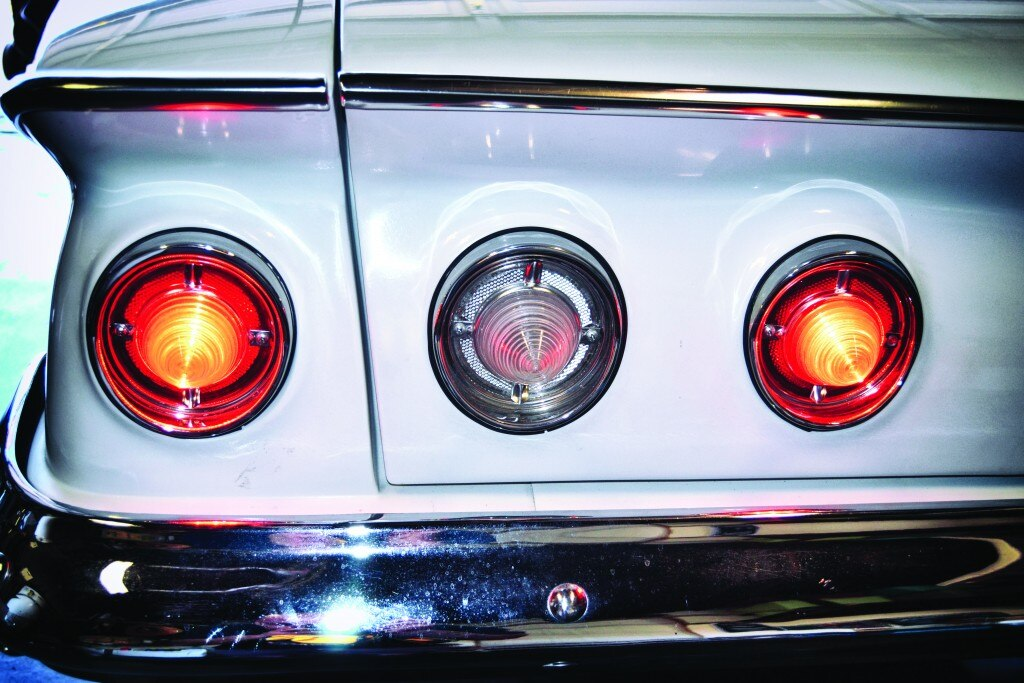 61 impala dakota digital gauge led taillight install 016